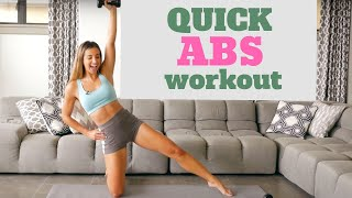 BEST ABS Workout for Women | In Home Holiday Series