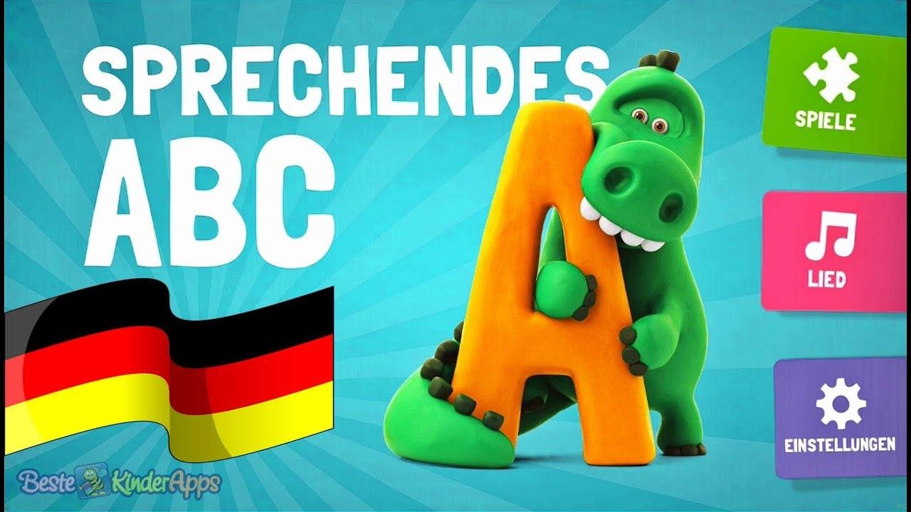 Sprechendes Abc Deutsch Alphabet Lied Buchstaben Lernspiele
