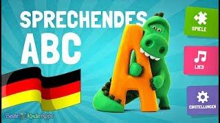 Sprechendes ABC (Deutsch) 🎓 Alphabet Lied & Buchstaben Lernspiele App für Kinder
