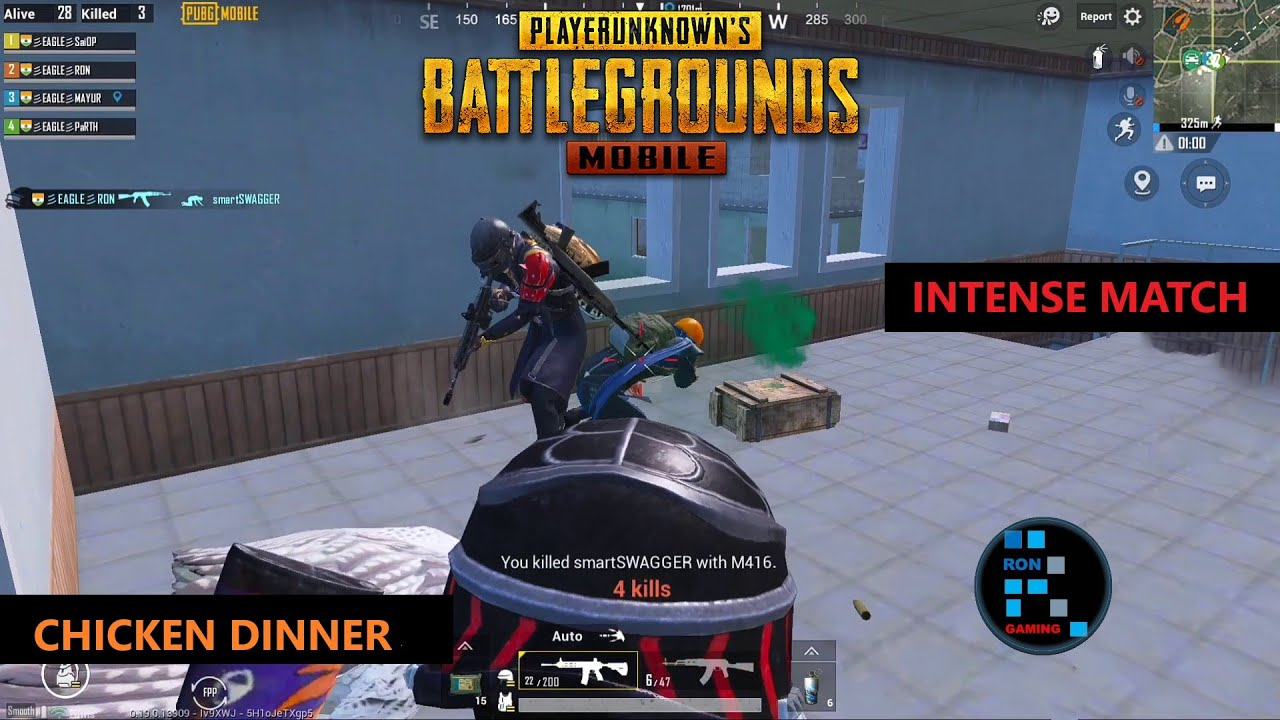 PUBG MOBILE | INTENSE MATCH CHICKEN DINNER OLD MATCH FOUND