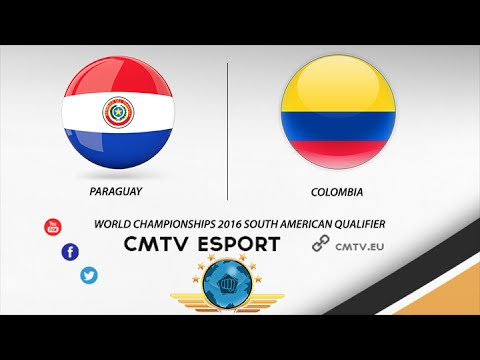 CS:GO - Paraguay vs Colombia - BO3 -The World Championships 2016 South American Qualifier