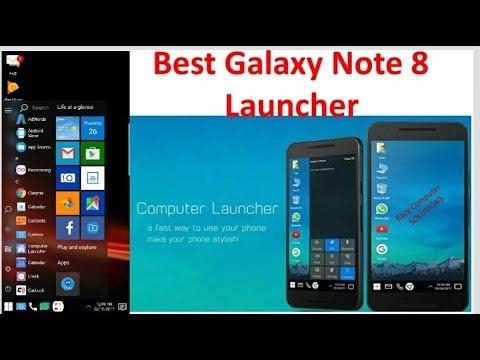 Download Samsung Galaxy Note 5 TouchWiz Launcher APK