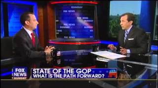 Chris Wallace Grills Reince Preibus Over GOP Rebranding: We