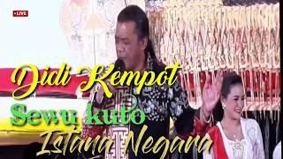Gambar cover Isih Tresno Pak Jokowi Didi Kempot Ki Manteb Sudarsono Istana Negara 2019