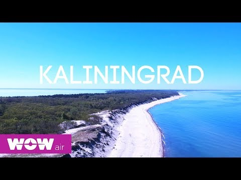 WOW air travel guide application | Kaliningrad Russia