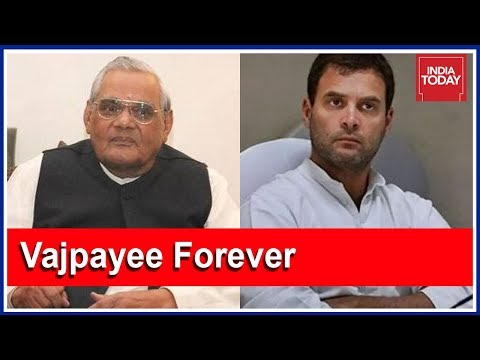 Rahul Gandhi Reaches Vajpayee's Delhi Residence | Live Cover