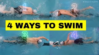 Most coaches don't teąch these 4 ways to swim