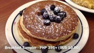 Ihop International House Of Pancakes Bonifacio Global City Manila Philippines By Hourphilippines.com