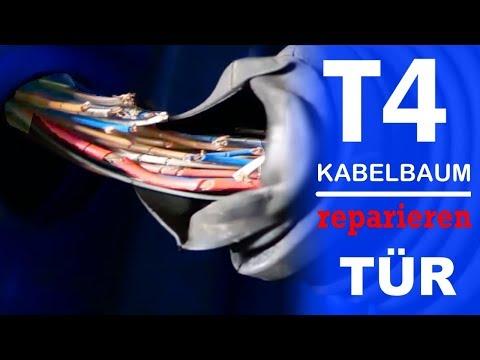 T4 Projekt Tür Kabelbaum Reparieren, Löten Und Glücklich Sein -Teil 12-