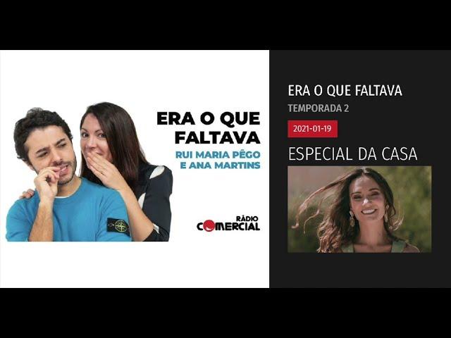 Podcast Rádio Comercial   Vanda Boavida