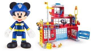 TOPOLINO - Scopriamo la Caserma dei Pompieri [Apertura Gioco per Bambini]