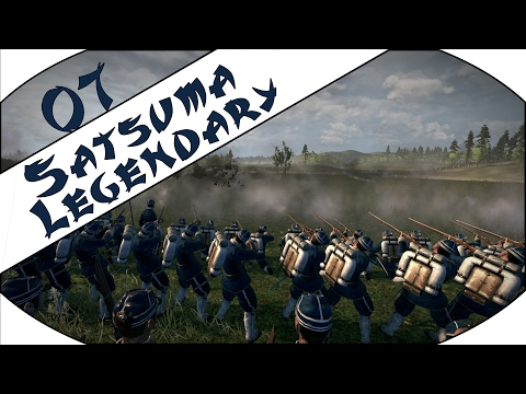LINE INFANTRY IN ACTION - Satsuma (Legendary) - Total War: Shogun 2 - Fall of the Samurai - Ep.07!