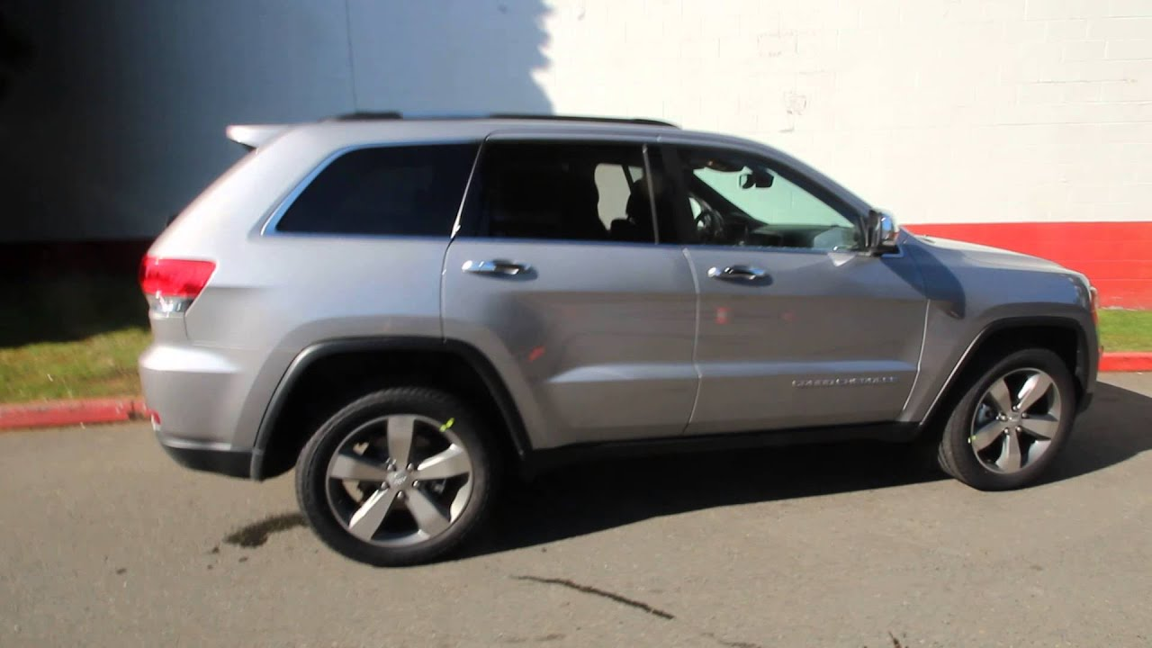 2014 Jeep Grand Cherokee Limited Billet Silver