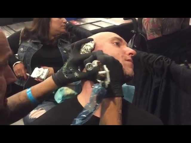 Big Sleeps Face Shot Tattoo Empire State Tattoo Expo