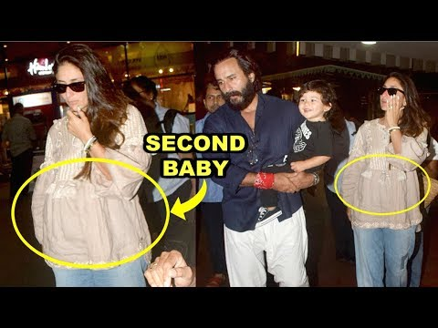 Kareena Kapoor Pregnant With Second Baby