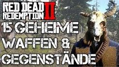 Red Dead Redemption 2 Geheimnisse  - 15 Geheime Waffen & Gegenstände | Fundorte Geheime Items  RDR 2