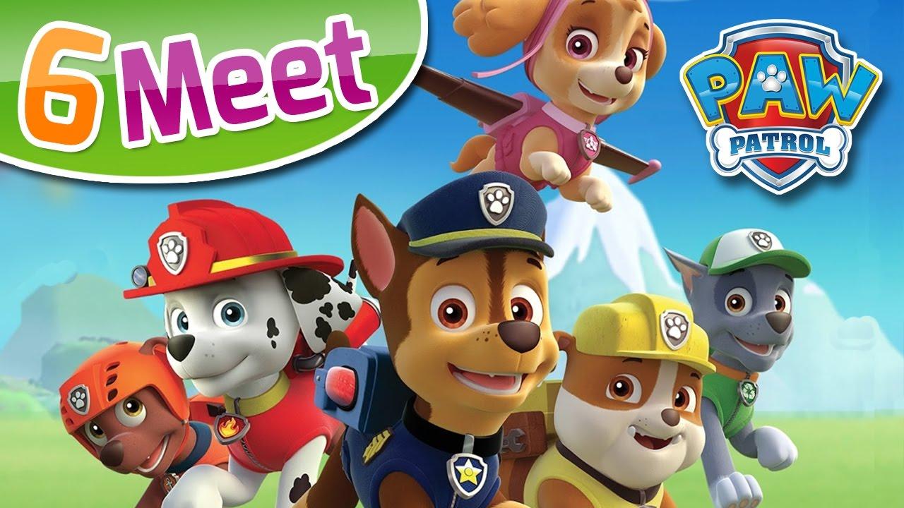 PAW Patrol: 6 Meet - for KIDS