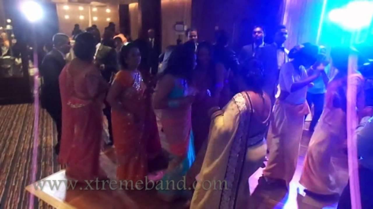 Sri Lankan Music Band Dancing Session At The Wedding Reception