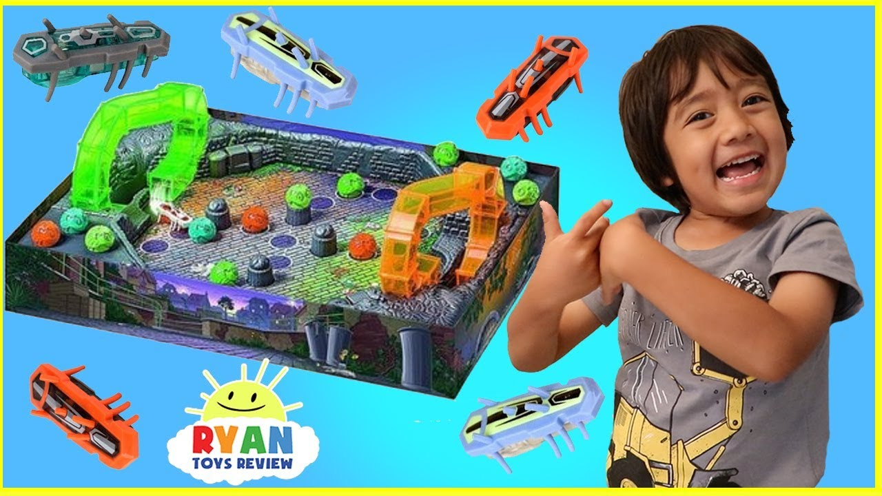 Hex Bug Buggaloop Family Fun Games For Kids With Kinder