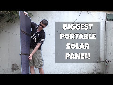 The best portable Solar Panel in 2017?