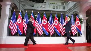 Trump-Kim summit: A chronology in pictures