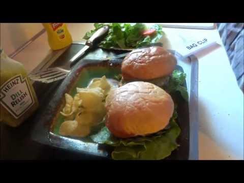 home made cheese burgers