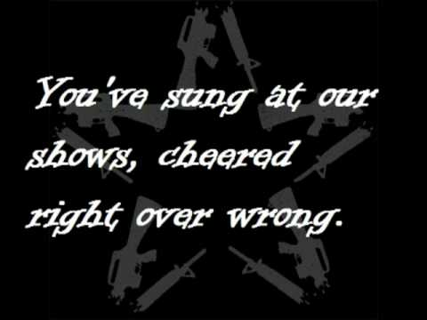 protest song (lyrics) - anti-flag