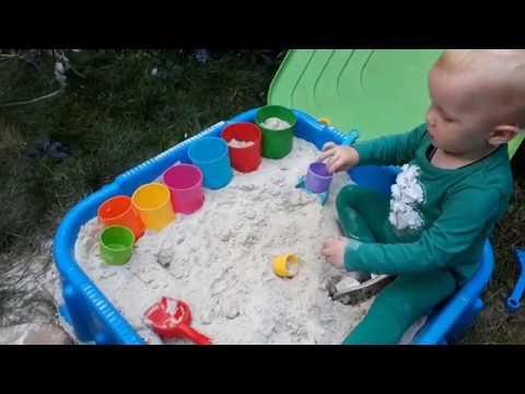 Игры с песком для детей. Games For Children With Sand
