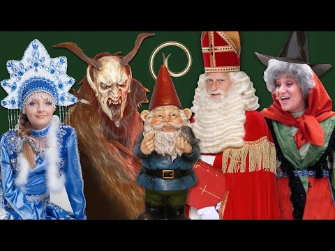 Some Guy Named Tias - What Santa Claus looks like around the world