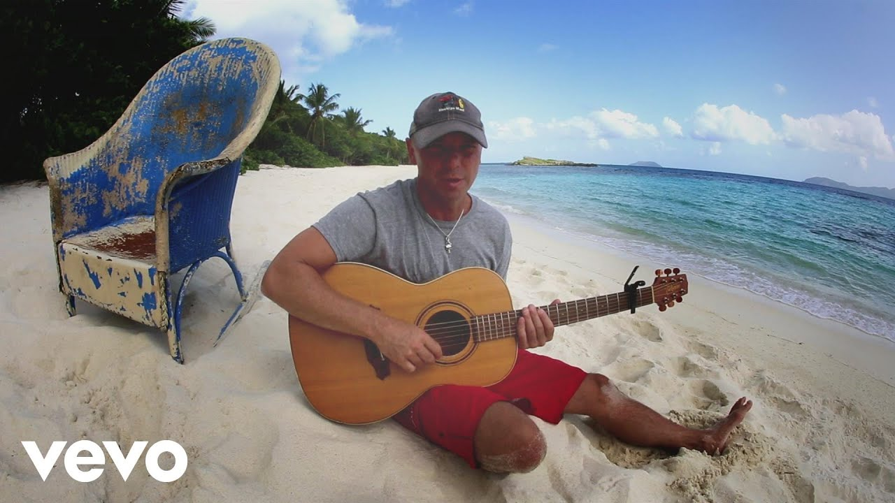 old blue chair lunchroom chairs canada kenny chesney christmas in bay youtube