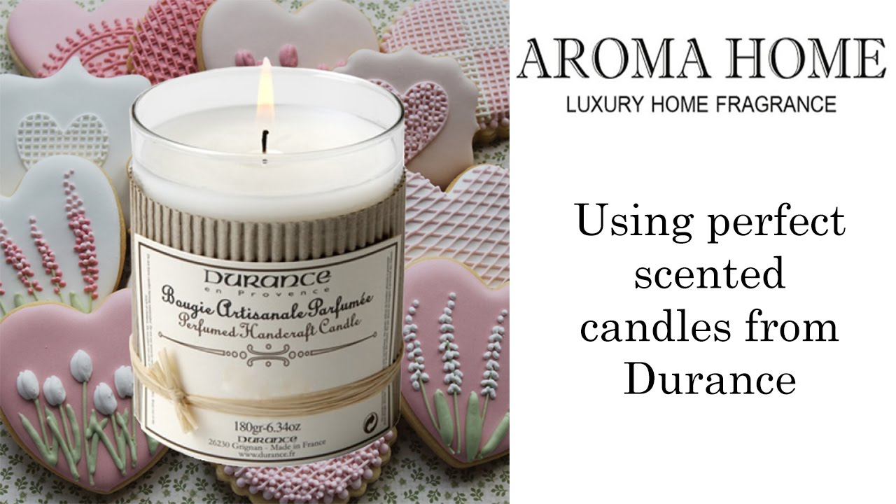 How To Use Scented Candles From Durance