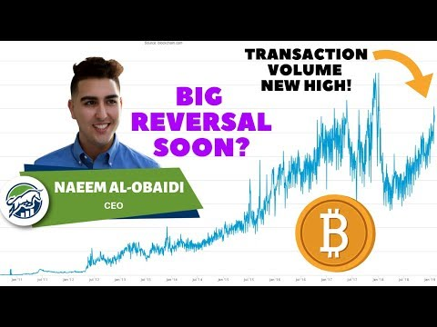 Bitcoin ($BTC) Transactions Increase Indicating BIG Reversal Soon? - Anyone else seeing this?