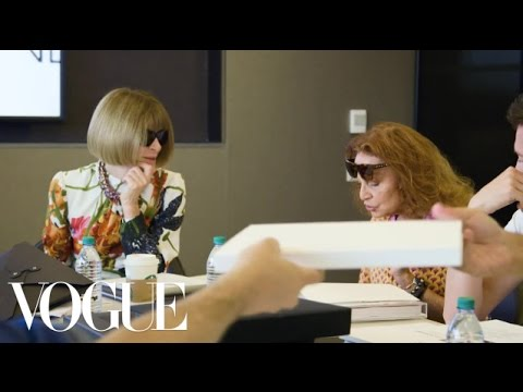 Anna Wintour & Diane von Furstenberg Decide the Fashion Fund Finalists | Vogue
