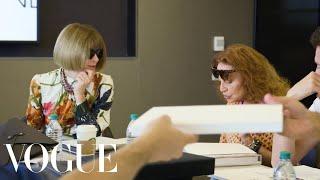Anna Wintour & Diane von Furstenberg Decide the Fashion Fund Finalists | Vogue