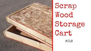 018 Scrap Wood Storage Cart