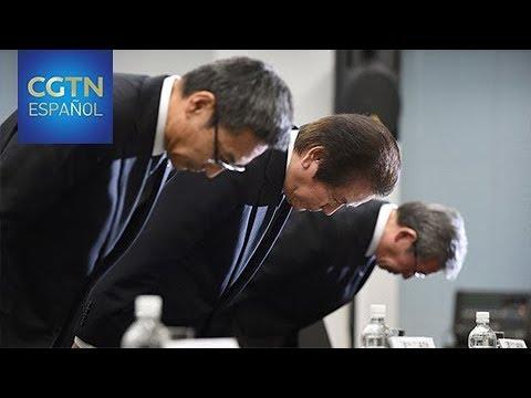 El presidente de Mitsubishi Materials se disculpa por la venta de productos con datos falsos