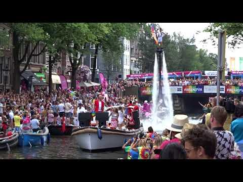 Amsterdam Canal Parade 2018 - Opening Group