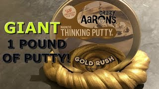 LARGEST CRAZY AARON'S THINKING PUTTY EVER!!!