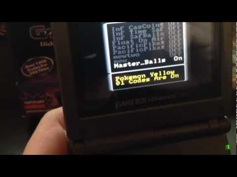 How To Properly Use Gameshark For Gameboy Color, The Right Way.