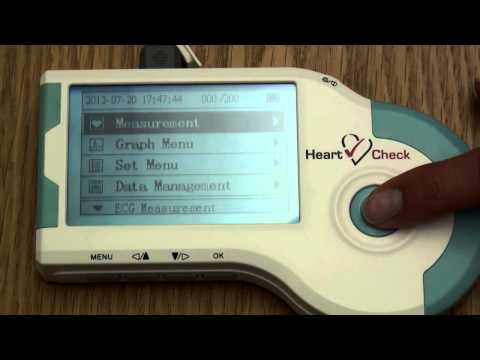 HeartCheck Handheld ECG Training Video