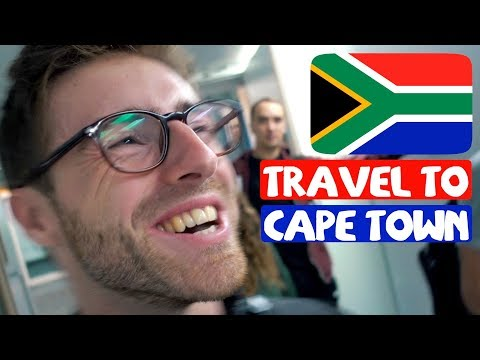 WE'RE GOING TO CAPE TOWN! (SOUTH AFRICA TRAVEL VLOG)