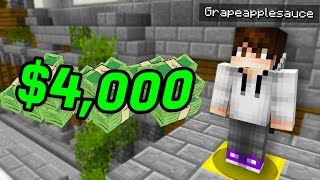 How I won $4,000 playing Minecraft...
