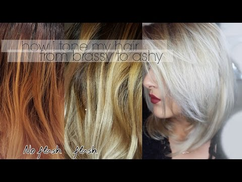 how to remove brass from blonde hair ash blonde hair t
