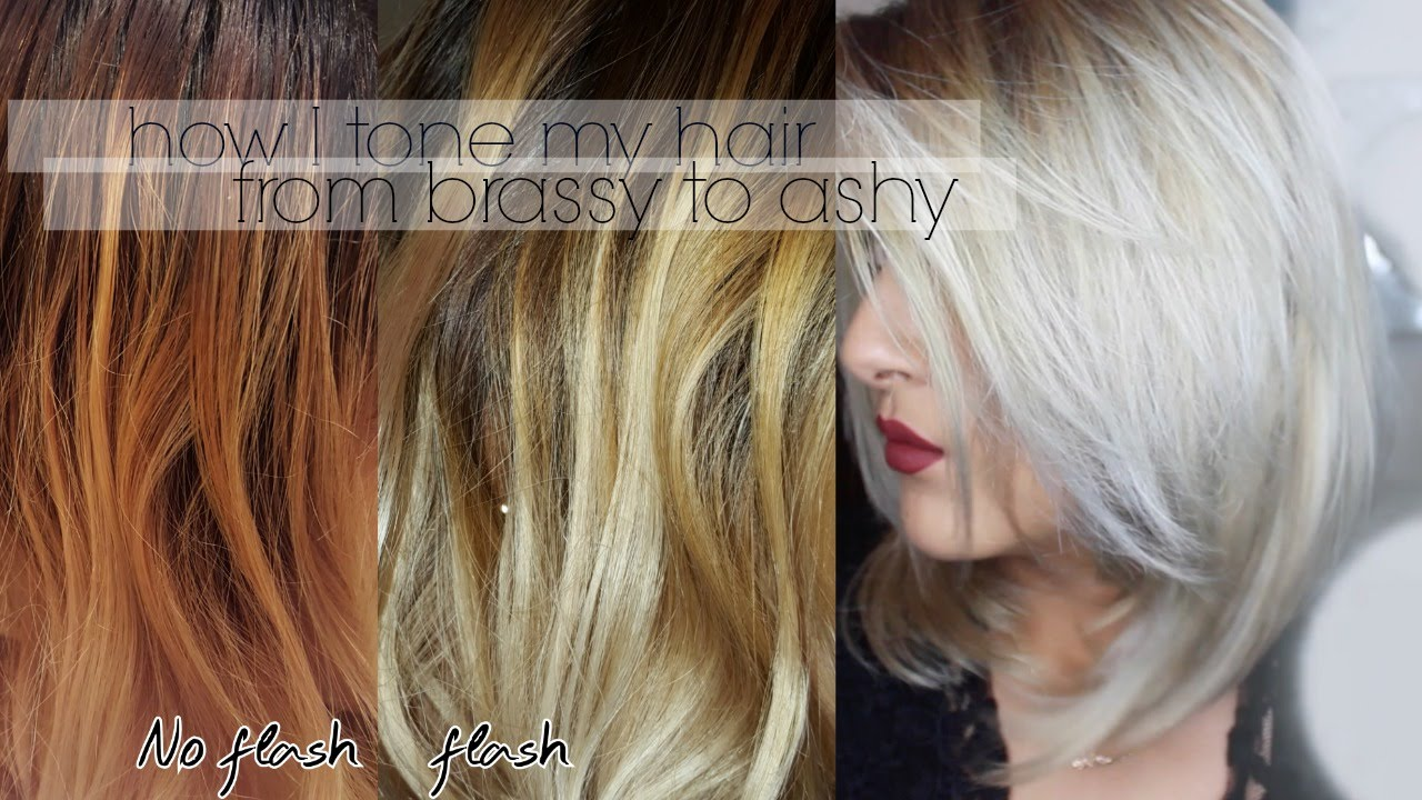 From Brassy To Ashy How I Tone My Hair Kmanzo01 Youtube