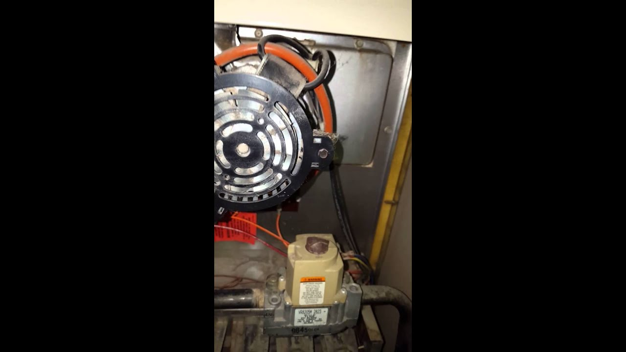 LENNOX gas furnace No spark ignition - YouTube