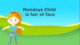 Mondays Child Poem ***