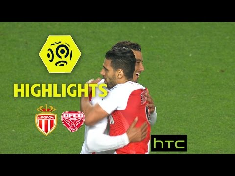 AS Monaco - Dijon FCO (2-1) - Highlights - (ASM - DFCO) / 2016-17