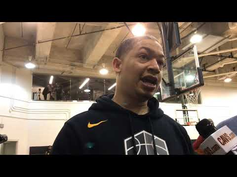 Tyronn Lue says George Hill only new Cav to start against Boston