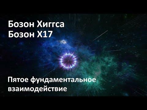 Бозон Х17 | Бозон Хиггса | Пятое фундаментальное взаимодействие