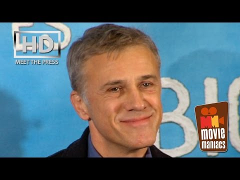 Big Eyes  full press conference with Christoph Waltz and Tim Burton